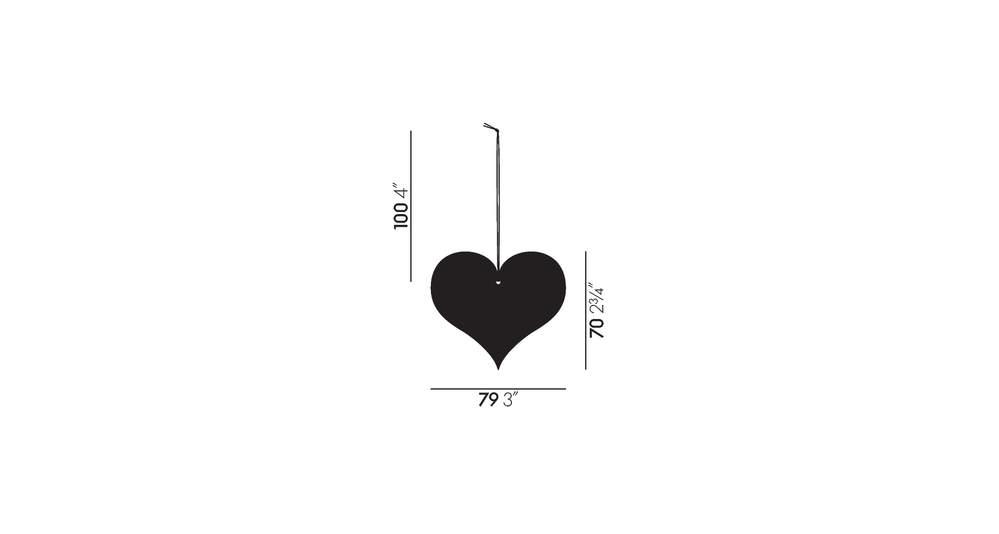 Girard Ornaments Heart