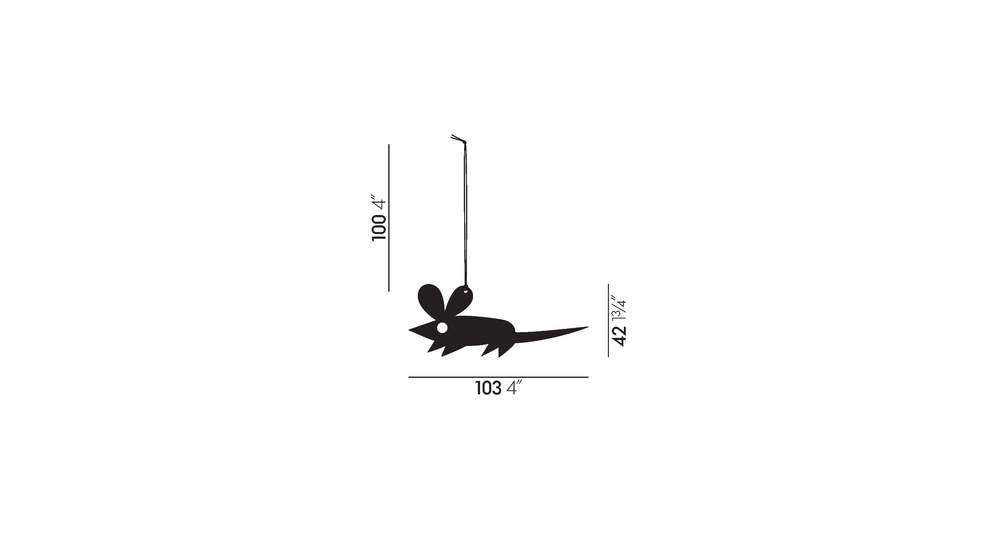 Girard Ornaments Mouse
