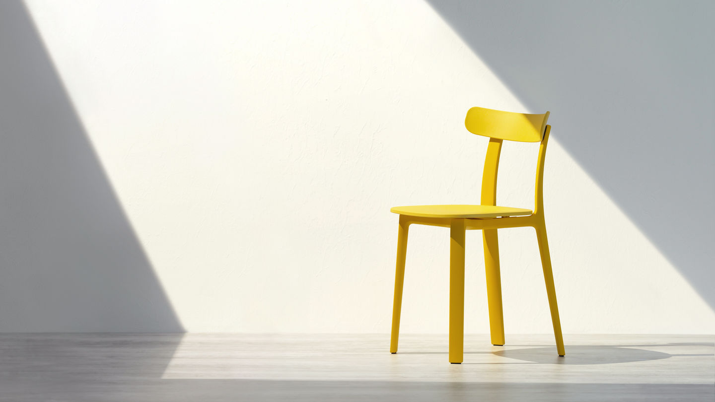 Vitra The Original Is By Vitra All Plastic Chair