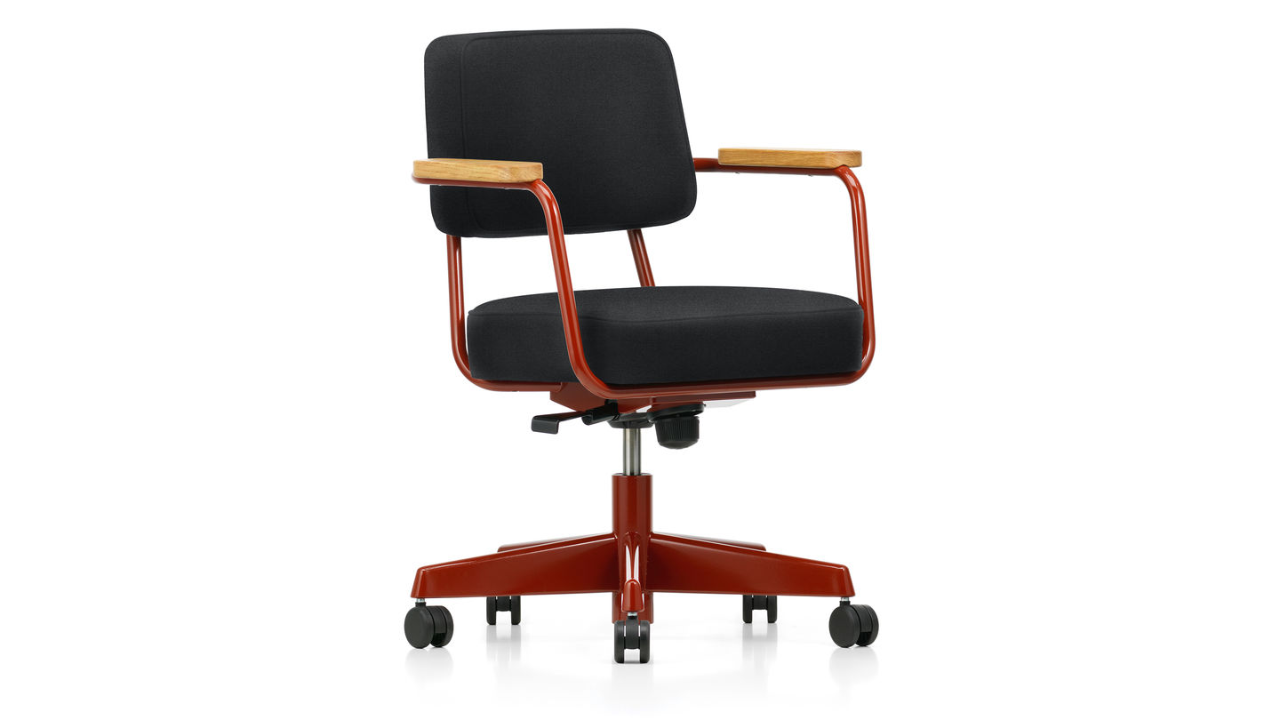 Vitra fauteuil direction pivotant for Chaise haute vitra
