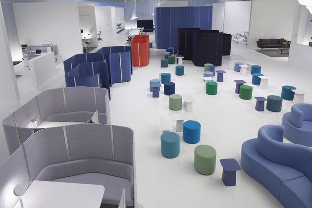 Vitra at the Orgatec office furniture fair 2012