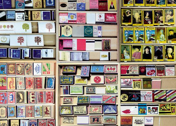 Matchbox Collages