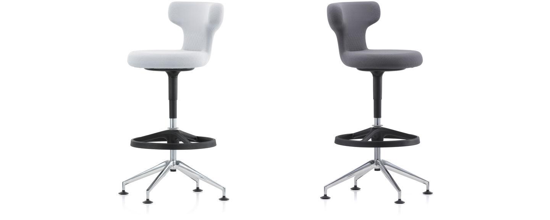 Vitra pivot counter stool for Chaise haute vitra