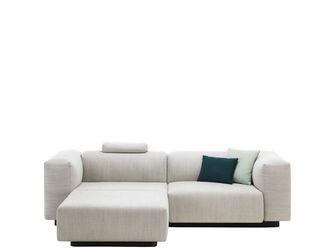 Soft Modular Sofa Two Seater Chaise LongueJasper Morrison