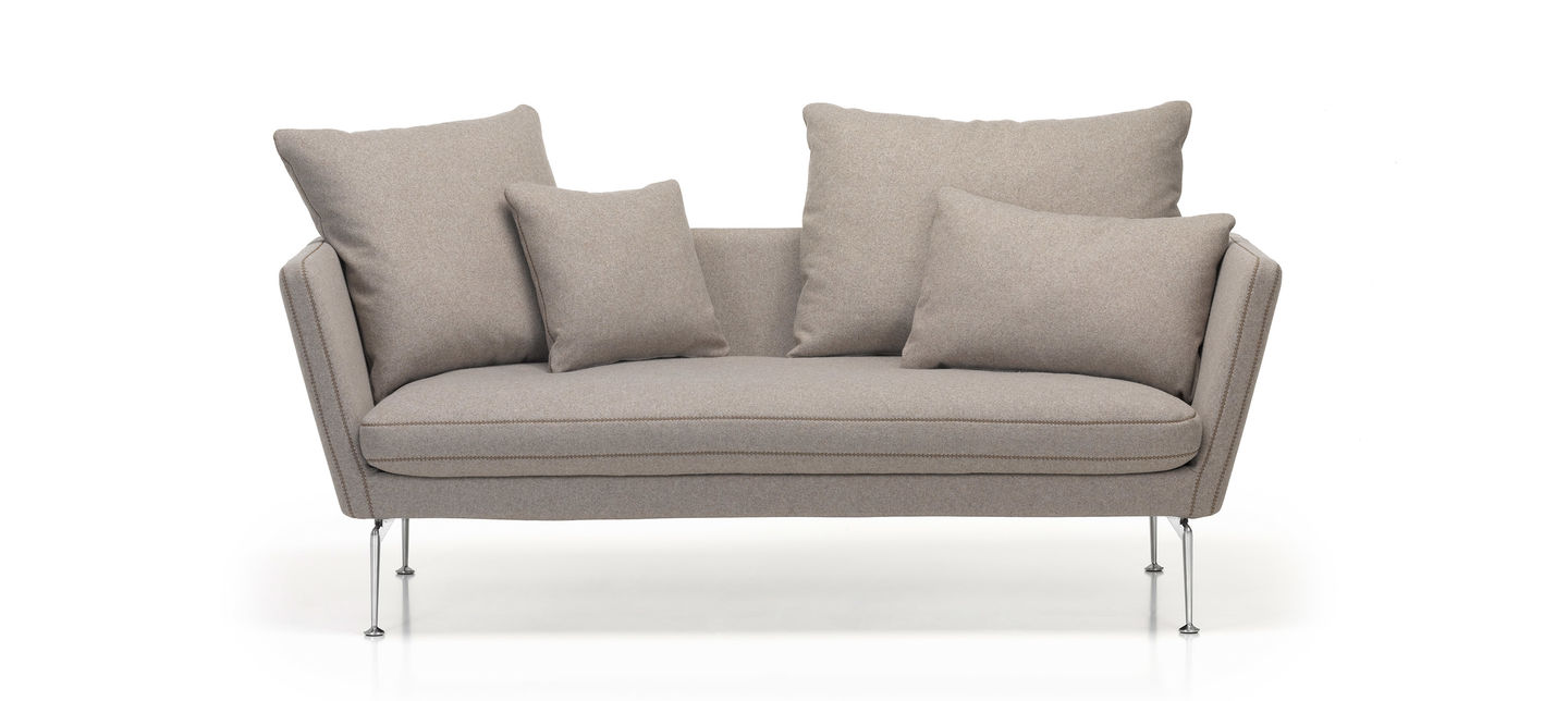 Characterised By An Elegant Technological Aesthetic The Suita Sofa Family 2010 Antonio Citterio Comprises Many Diffe Components