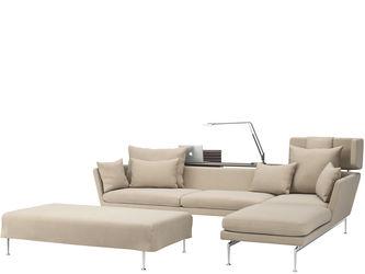 Suita Chaise Longue large Headrest, Sofa 3-Seater, Platform 160 x 80Antonio  Citterio