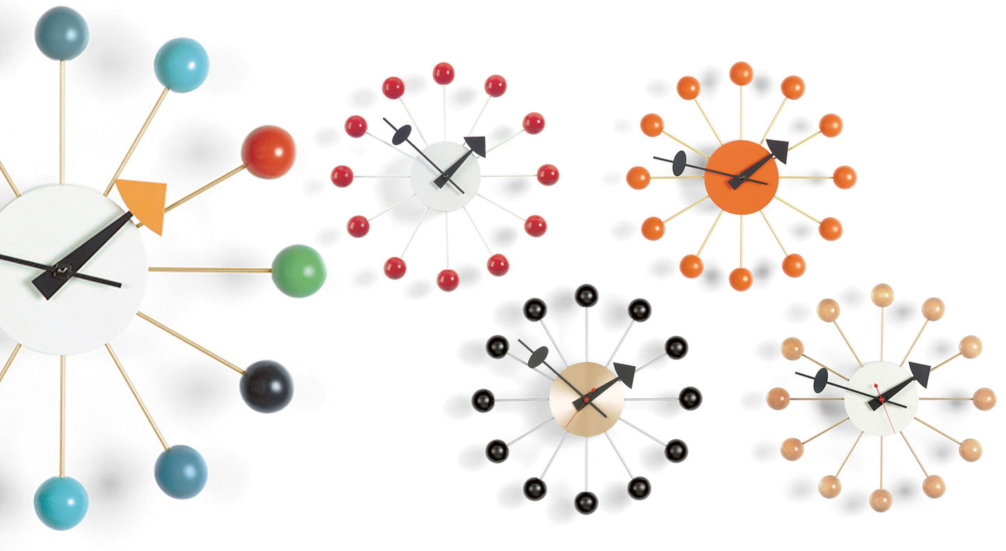 vitra  wall clocks  ball clock - wall clocks  ball clock george nelson