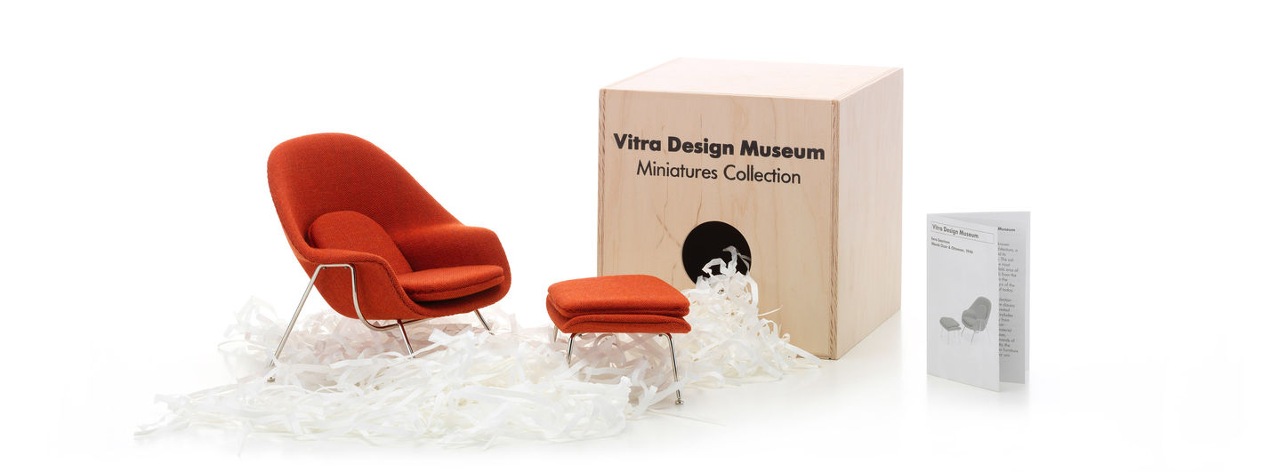 Miniatures Womb Chair U0026 Ottoman. Eero Saarinen, 1948. Alt