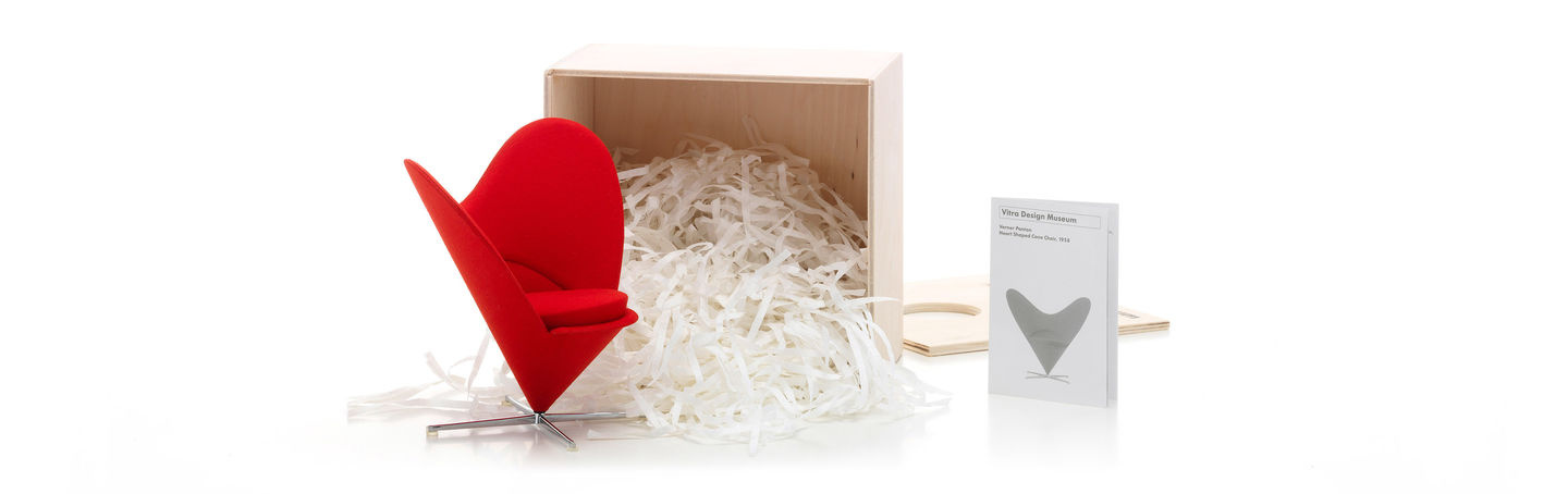 Vitra | Miniatures Heart Shaped Cone Chair