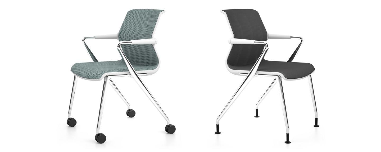vitra unix chair four legged base. Black Bedroom Furniture Sets. Home Design Ideas