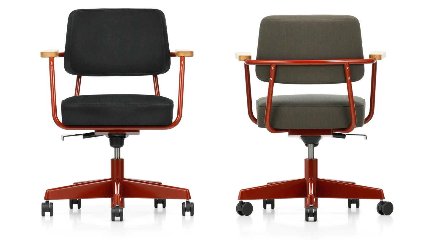 Vitra fauteuil direction pivotant for Fauteuil design vitra