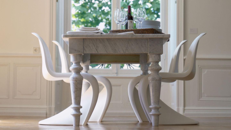 Vitra panton chair for Sedia design panton