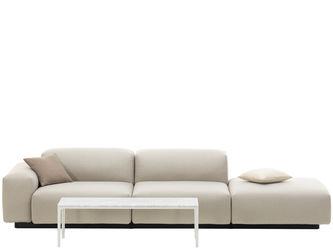 Soft Modular Sofa Three Seater Platformjasper Morrison