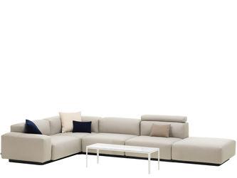 Soft Modular Sofa Four-seater, corner element, platformJasper Morrison