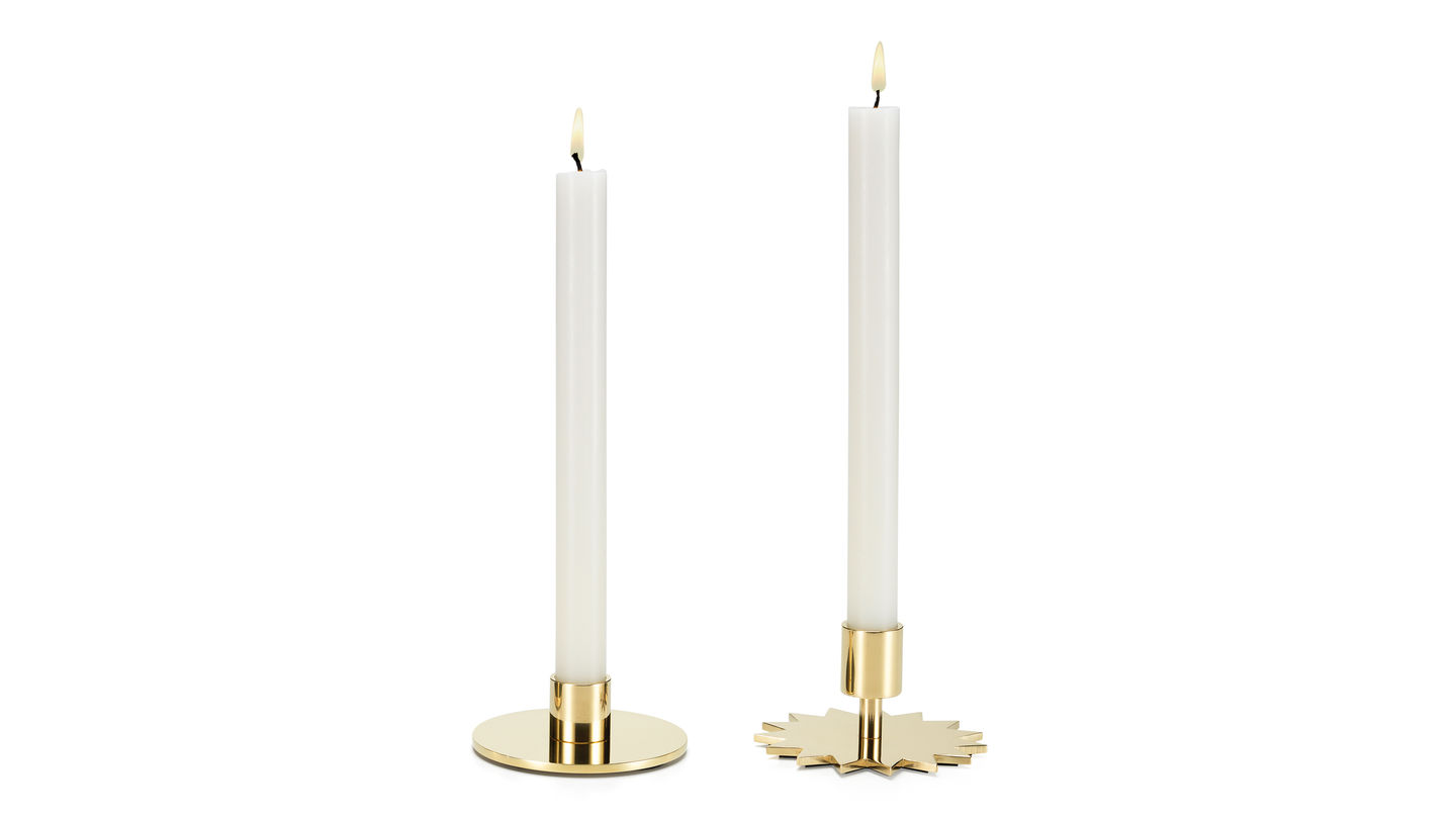 Alexander Girard Personally Selected Each Individual Object Including Four Decorative Br Candle Holders That He Created In 1963