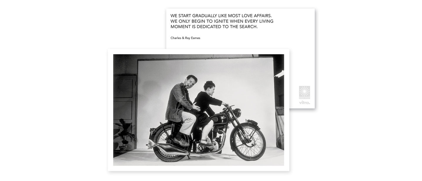 Vitra Eames Quotes Greeting Cards Love Affairs