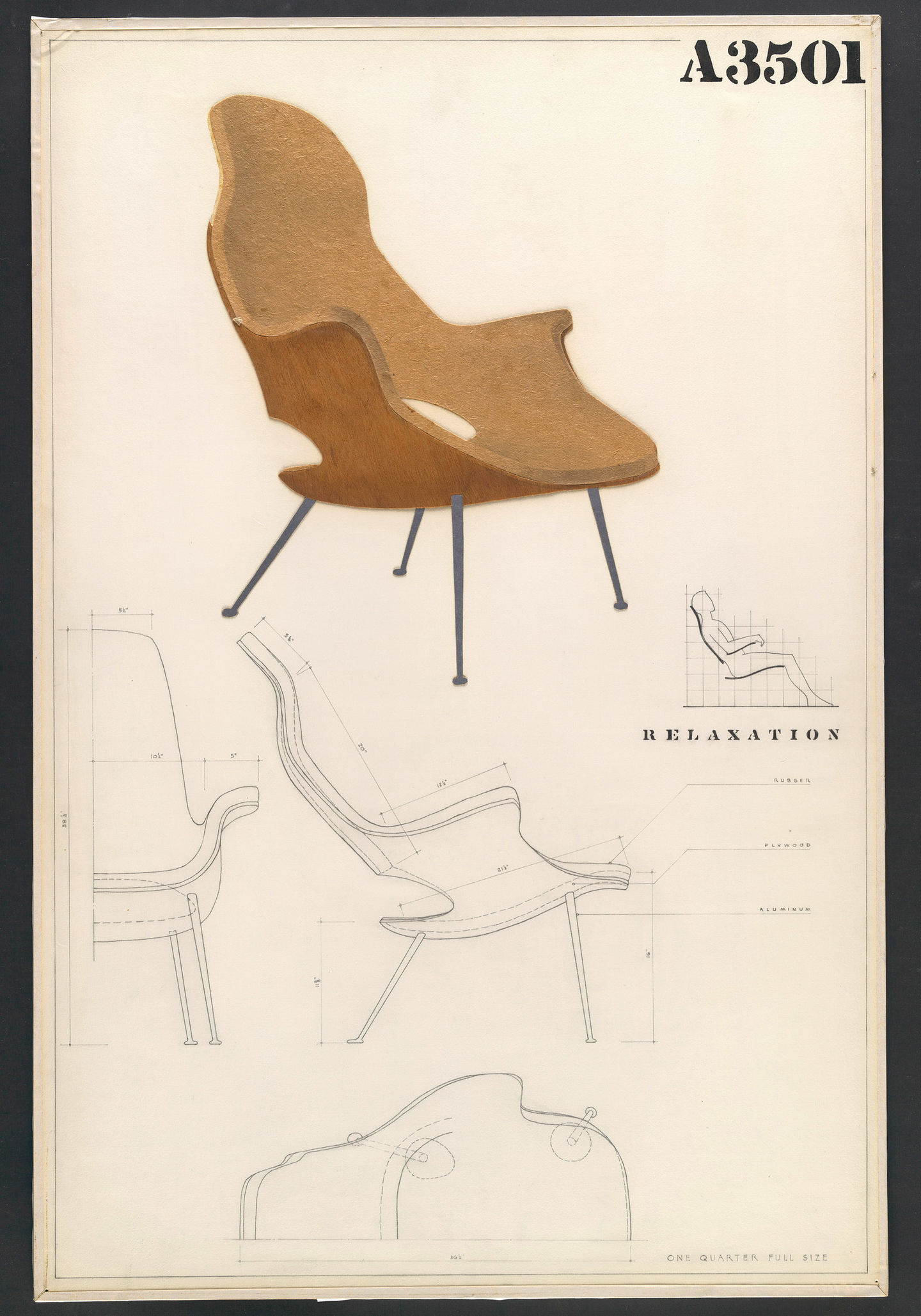 vitra the organic chair