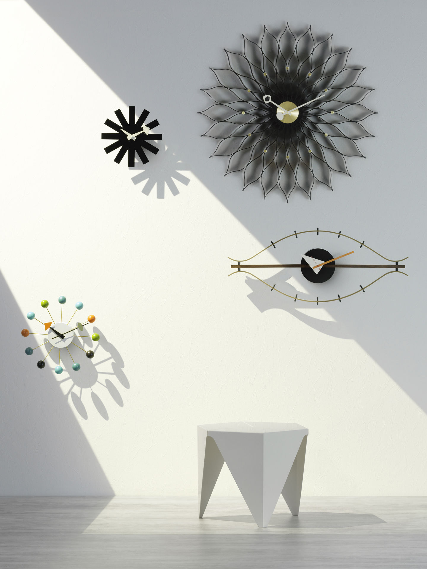 Vitra The Original Comes From Vitra Wall Clocks