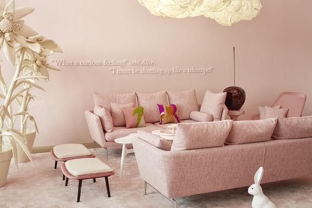Vitra india mahdavi transforms the loft into alice s for India mahdavi furniture