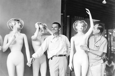 George Nelson and Charles Eames Mannequins at the Jungle Gym