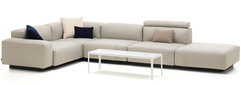 Vitra soft modular sofa de cuatro plazas elemento de - Sofas de 4 plazas ...