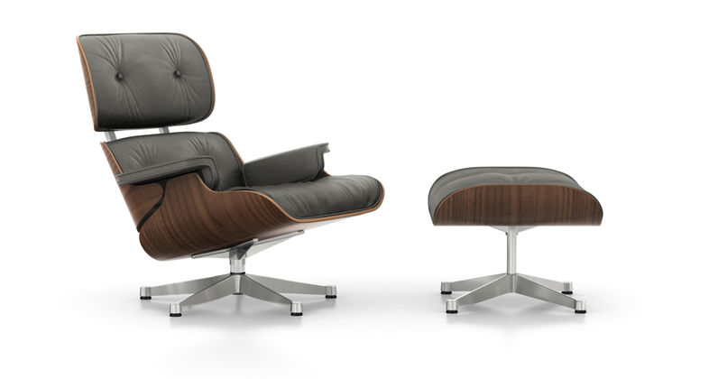 Vitra eames lounge chair for Eames sessel replica