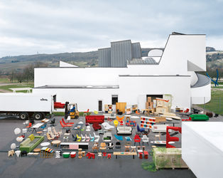 Home Collection in front of the Vitra Design Museum