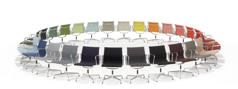 vitra eames aluminium chair. Black Bedroom Furniture Sets. Home Design Ideas