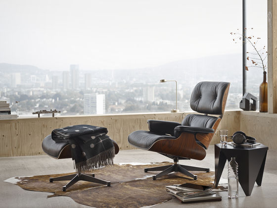 Vitra Lounge Chair Ottoman - Fauteuil design charles eames