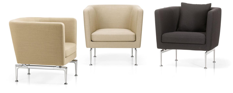 vitra suita club armchair. Black Bedroom Furniture Sets. Home Design Ideas