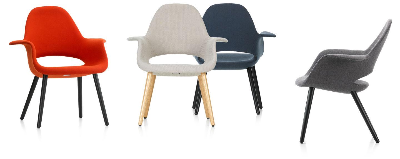 Vitra Design Stoelen.Vitra Organic Chair