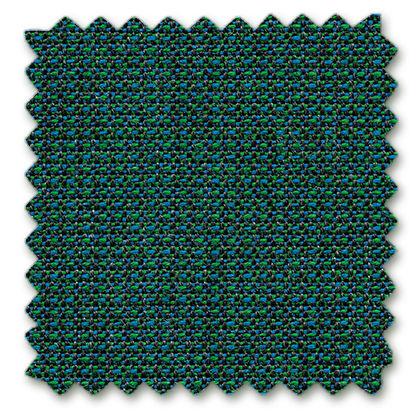 13 teal blue melange