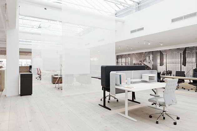 vitra citizen office.  Vitra A Vitra Factory And The Citizen Office It Forges Links Between Design  Theory Practical Office Solutions Focused Work Atmosphere To Office
