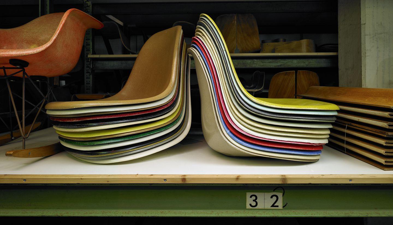 Vilt Kussen Eames : Vitra eames plastic chair