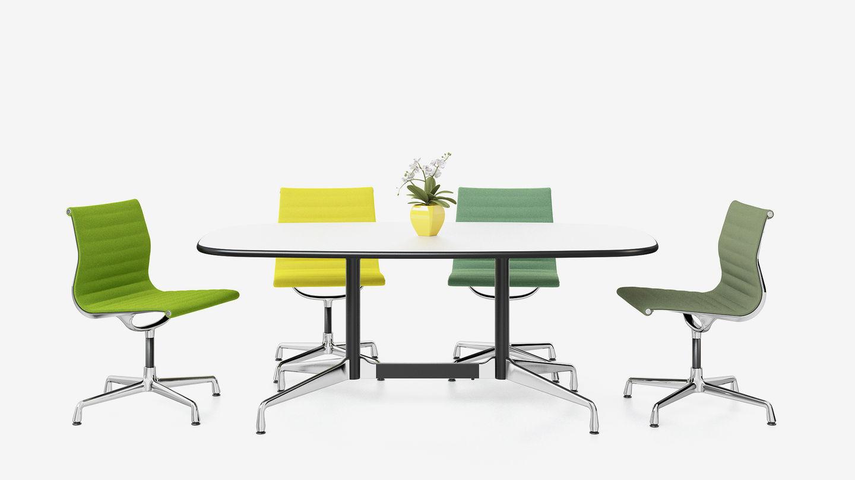 vitra eames tables. Black Bedroom Furniture Sets. Home Design Ideas