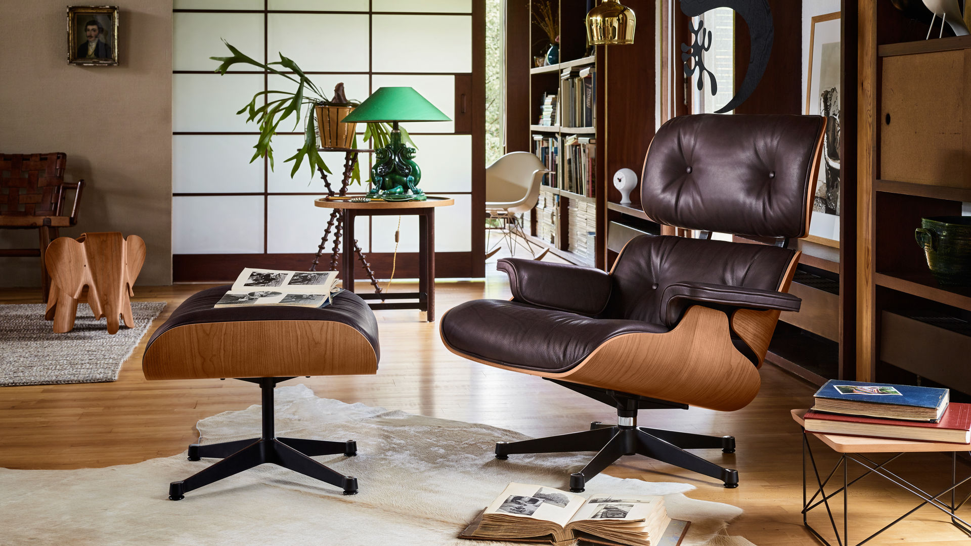 Vitra home stories for winter for Eames chair kopie