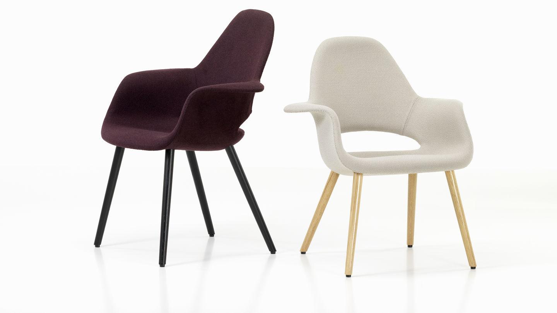 Vitra Eames Stoel : Vitra organic chair