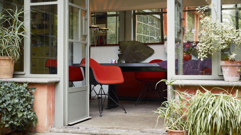 Vitra Eames Kussen : Vitra eames plastic chair